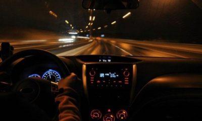night driving dashboard