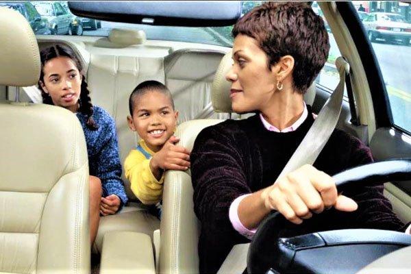 kids hurt car