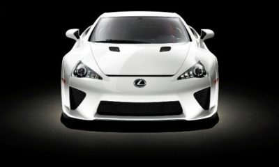 Lexus LFA frontview