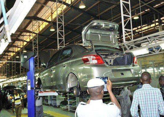 peugeot car assembly plant