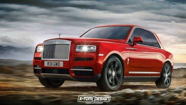 Rolls Royce cullinan coupe