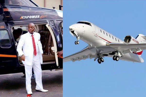 oyedepo-private-jet