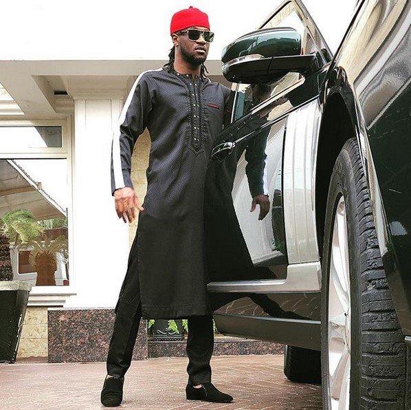 paul okoye's Range Rover Vogue