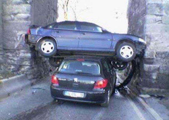 confusing car accident