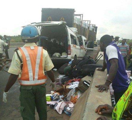 auto crash in edo state