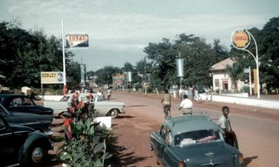 street of Enugu and cars around then