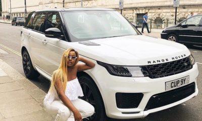 dj cuppy new range rover sports 2018