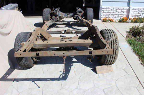 lean bent chassis