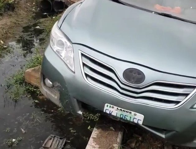 somi bbn accidented car