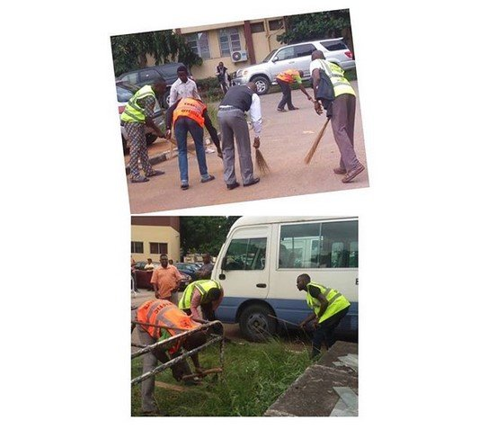 17 traffic offenders do community service