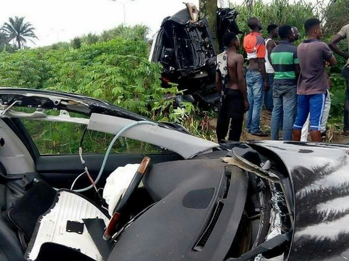 car crash split