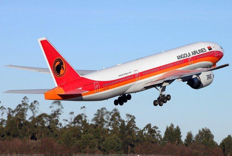 airline Angola