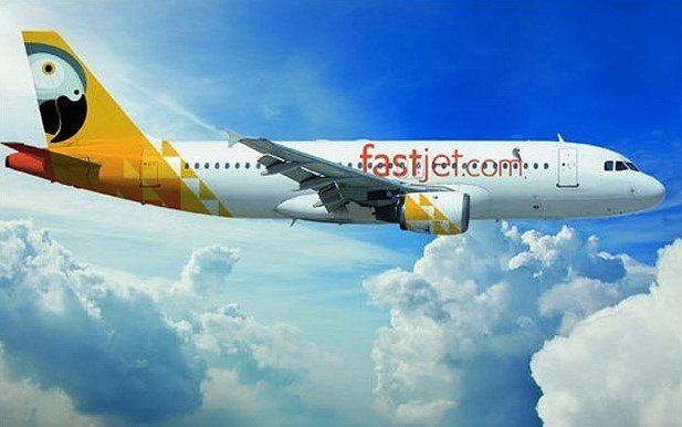 airline fast jet