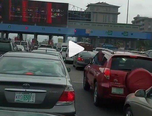 fire truck lekki toll gate