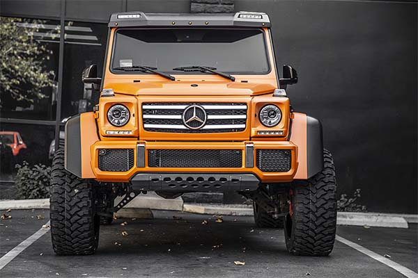 Custom Benz G550 4×4²