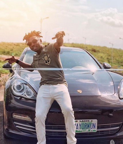 mayorkun porsche panamera turbo