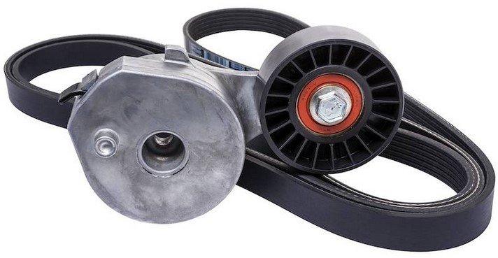 serpentine belt and tensioner
