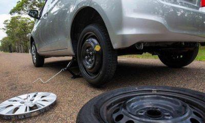 temporary donut spare tyre