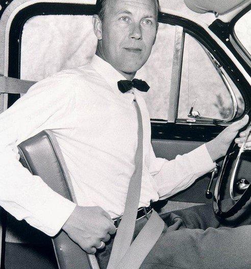 volvo safety belt