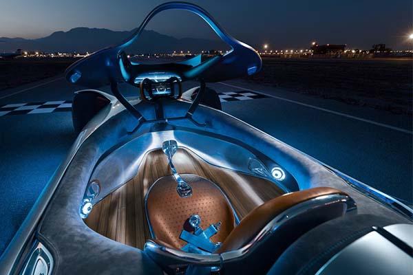 2018 Mercedes Benz Vision EQ Silver Arrow