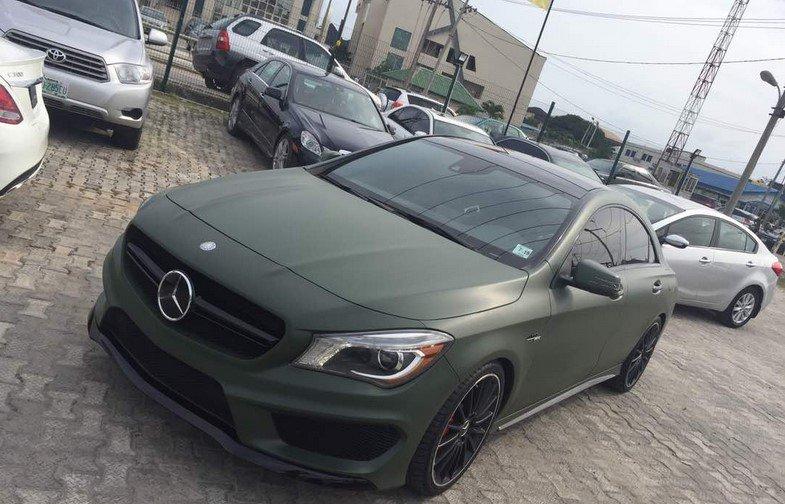 army green colour nigeria