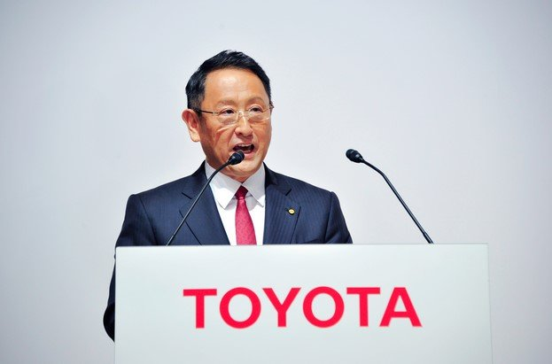 toyota ceo