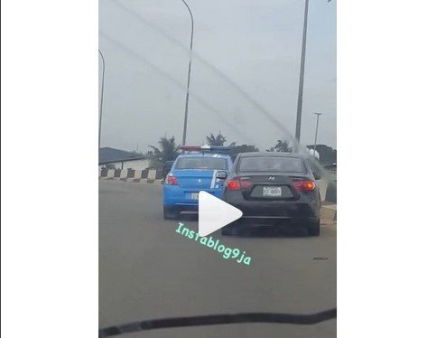 lady and frsc road rage