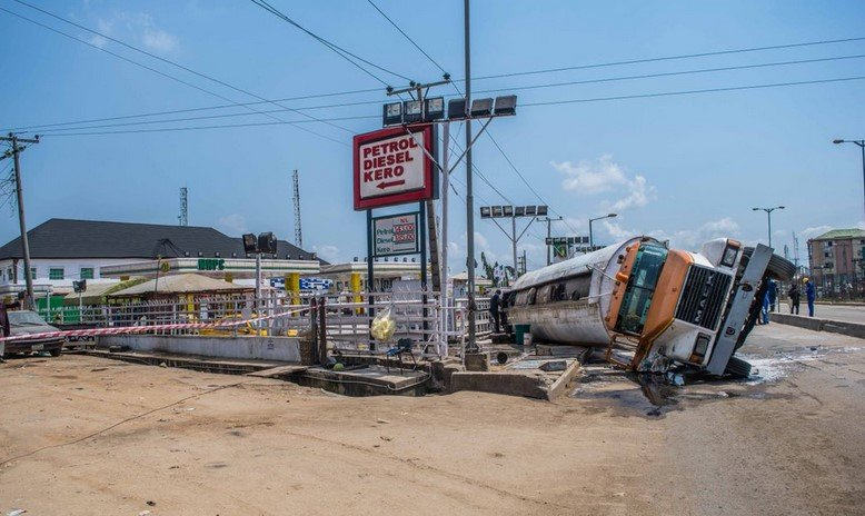 loaded tanker fall in ketu