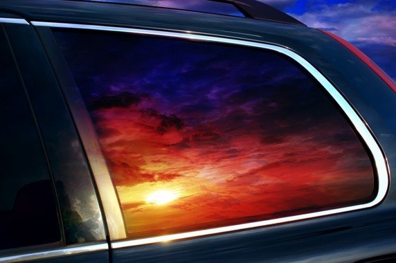tinted glass UV ray reduction