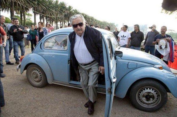 world poorest president car