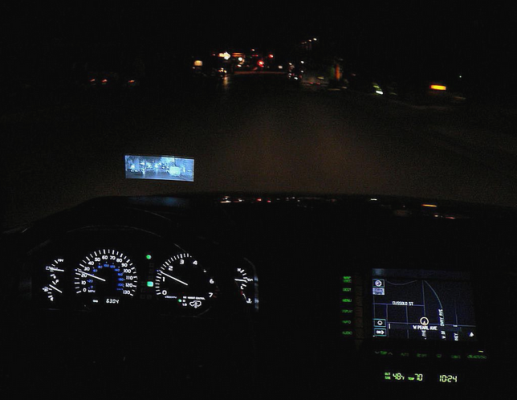 car safety feature night vision