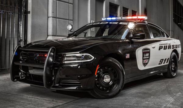 usa police car