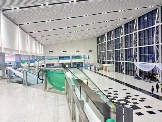 port harcourt international airport terminal commissioning