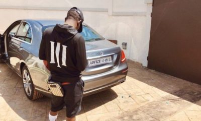 shatta wale new benz