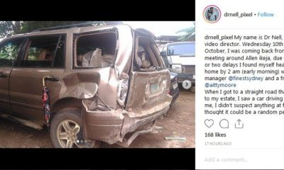 video producer attacked by robbers in Lagos