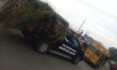 nigerian police vans