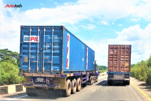 impounding trucks plying federal highways that are not road-worthy
