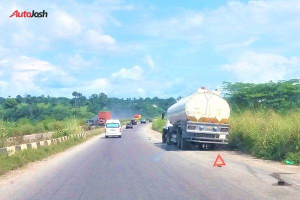 impounding trucks plying federal highways that are not road-worthy.
