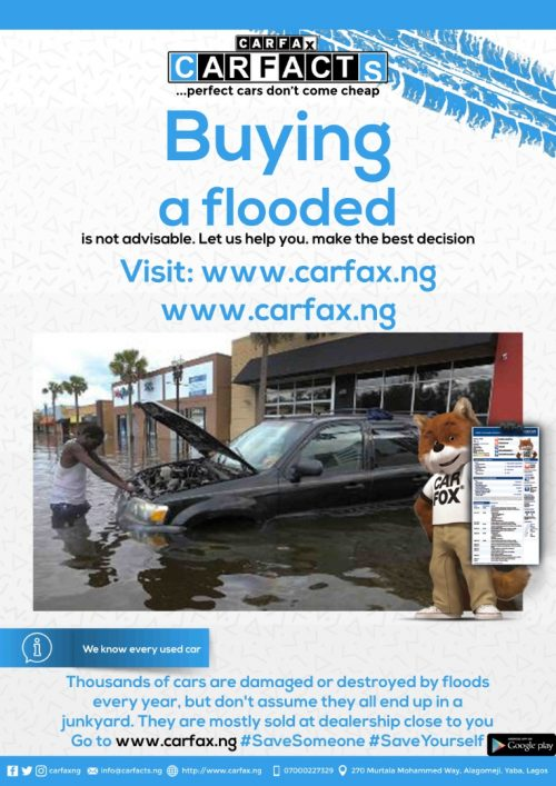 carfacts verification flier