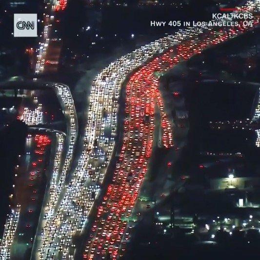 traffic congestion los angeles