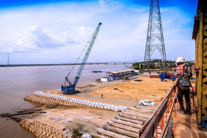 construction second niger bridge