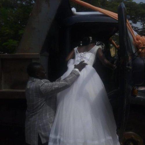 truck driver wedding