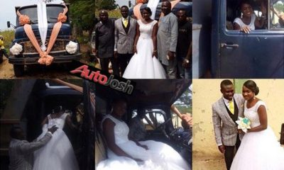 truck driver wedding car
