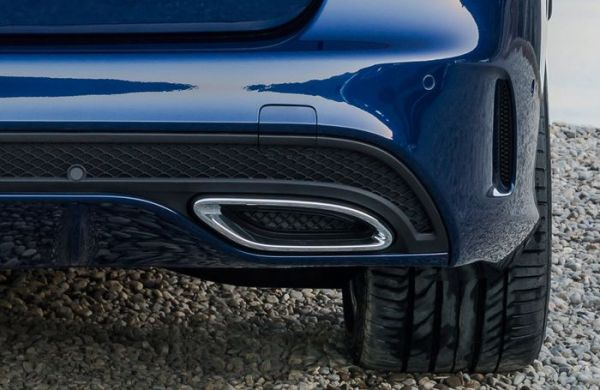 worst car trend fake exhaust pipe