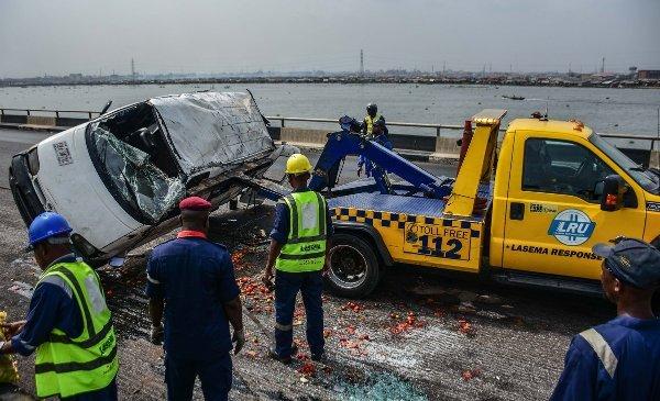 minibus accident 3rd mainland bridge