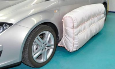 exterior airbags