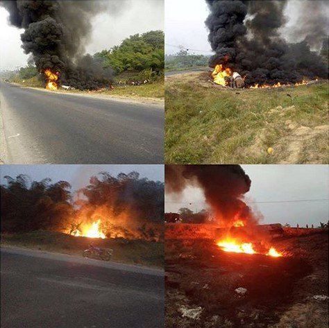 15 persons burnt to death