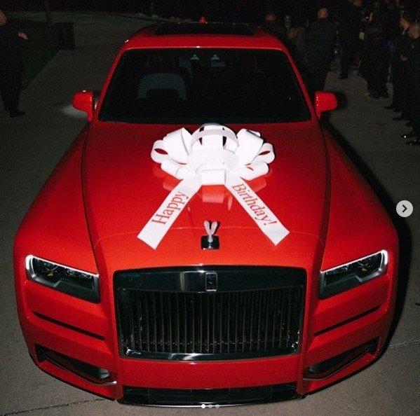 gucci mane rolls royce cullinan gift for wife