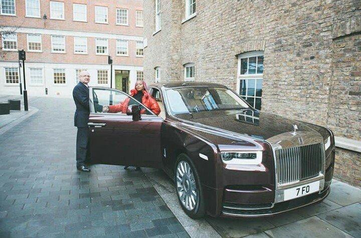 Dj Cuppy Rolls Royce