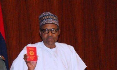 president buhari international passport
